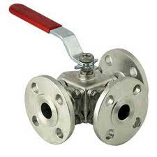 Three Way And Four Way BAll Valve 150 Class Flanged End