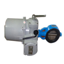 Butterfly Valve Electric Actuator Operation