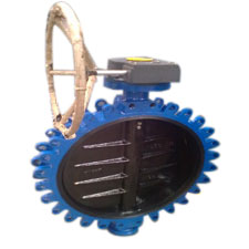 Wafer Lug Type Butterfly Valve Gear Operated