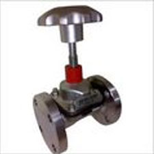 WEIR-A TYPE DIAPGRAGM VALVE FLANGED END UNLINED