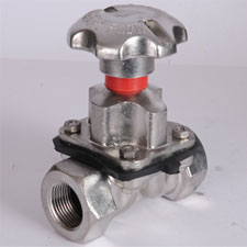 WEIR-A TYPE DIAPGRAGM VALVE SCREW END
