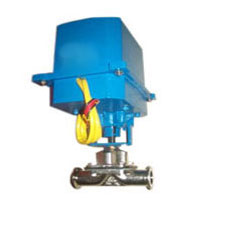 ELECTRIC OPERATED DIAPGRAGM VALVE TC END