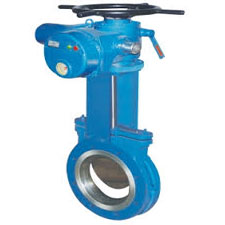 Knife Edge Gate Valve Electric Operated