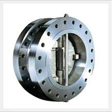 Dual Plate Check Valve Double Flange Design