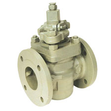 Self Lubricating Plug Valve Flanged End