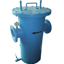 BASKET TYPE STRAINER FLANGED END