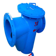 POT TYPE STRAINER FLANGED END