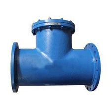TEE TYPE STRAINER FLANGED END