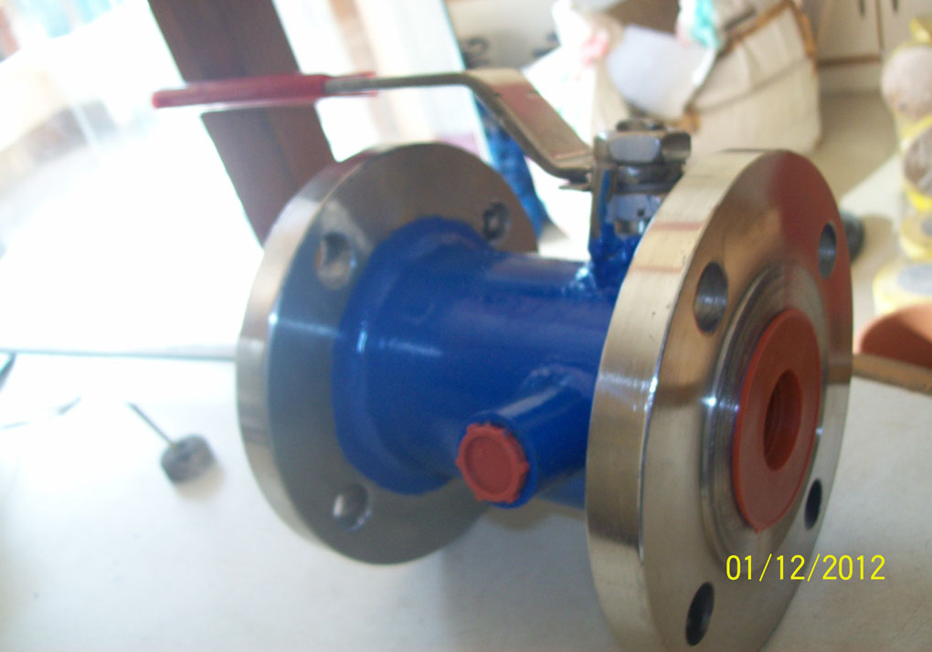 jecketted ball valve